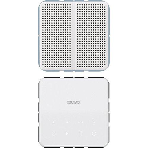 Kit monofasico Bluetooth Connect Display Altavoz Blanco Alpino Jung