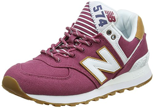 New Balance Wl574v2 Yatch Pack, Zapatillas para Mujer Rosa (Dragon Fruit)