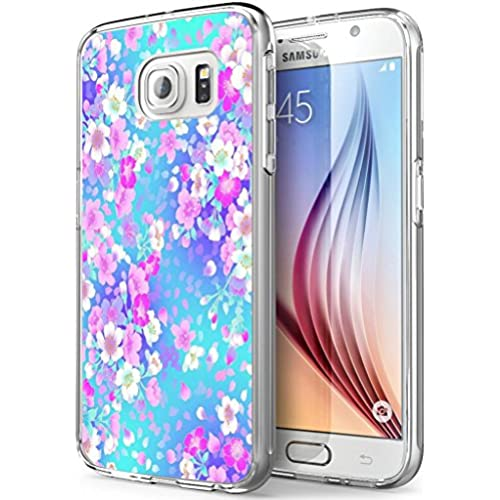S7 Active Flowers,Gifun Soft Clear TPU [Anti-Slide] and [Drop Protection] Protective Case Cover for Samsung Galaxy Sales