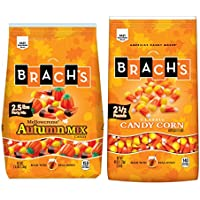 2-Count Brach's Candy Corn and Autumn Mix Duo (40 Ounce Bags)