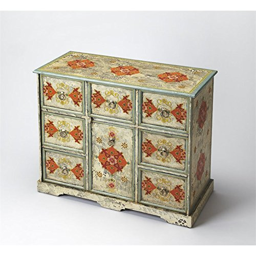 Butler specality company BUTLER 3566290 RAJAN HAND PAINTED ACCENT (Hand Painted Accent Cabinet)