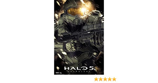 Grupo Erik Editores Halo 5 Master Chief Poster, Sin plastificar ...