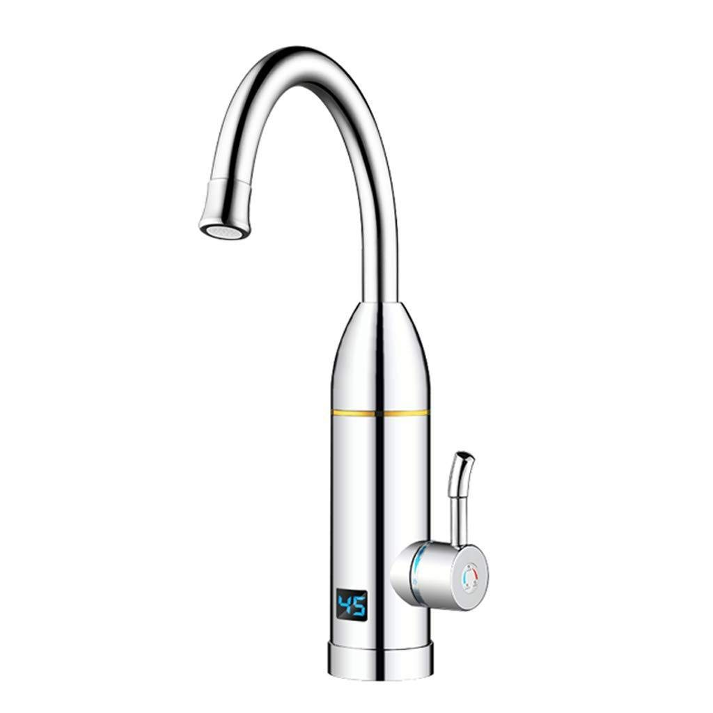 LE Electric Faucet, Hot Tap Water, Hot Water, Kitchen, Water Heater, Household Double-Layer Fuselage, Outer Layer is More Beautiful