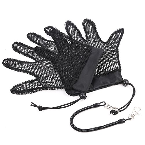 M MAXIMUMCATCH Maxcatch Fish Landing Glove Fishing Mesh Glove