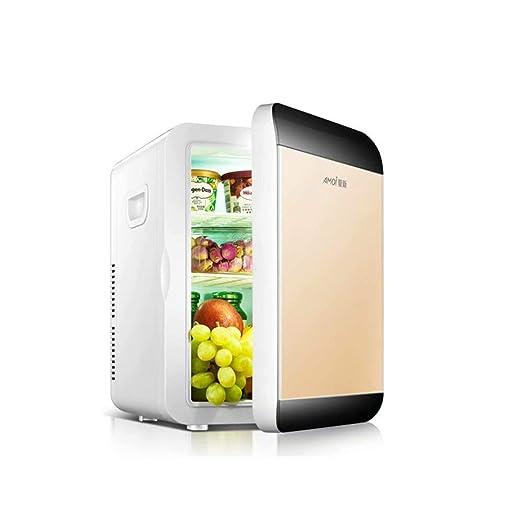 XUE-1 - Mini refrigerador y Calentador, Smart/Black Gold, 18.5 ...