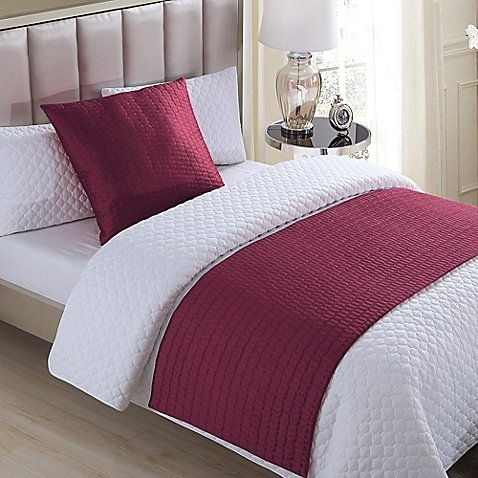 quilted bed runner - 9