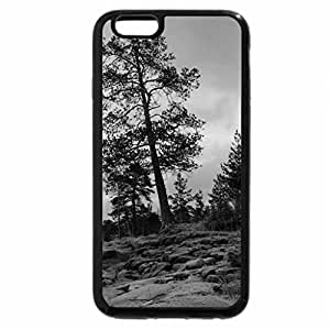 iPhone 6S Case, iPhone 6 Case (Black & White) - Serene Winter