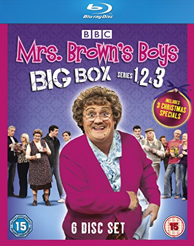 Mrs Brown's Boys-Big Box Series 1-3 [Blu-ray]