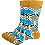 Thsbird Men's Comfort Crew Ankle Crew Basketball Socks Athletic Sock Pack of 4