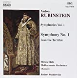 Symphonies I: Sym 1 in F Major / Ivan the Terrible by Naxos (2006-08-01)