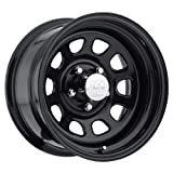 Pro Comp Steel Wheels Series 51 Wheel with Gloss Black Finish (17x8/6x5.5) by Pro Comp Steel Wheels