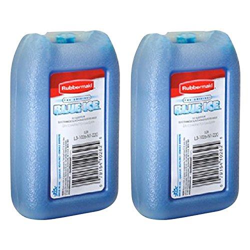 RUBBERMAID – Blue Ice Mini Pack, Reusable, 1026-TL-220, 8 OZ (2 Pack)
