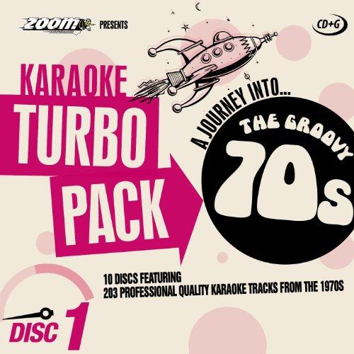 Zoom Karaoke CD+G Turbo Pack - 1970s/Seventies - 10 Discs [Card Wallets] ()
