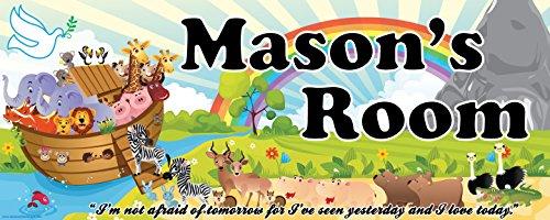 Mona Melisa Designs Customized Noah Mason Name Sign Decorative Wall Sticker from Mona Melisa Designs