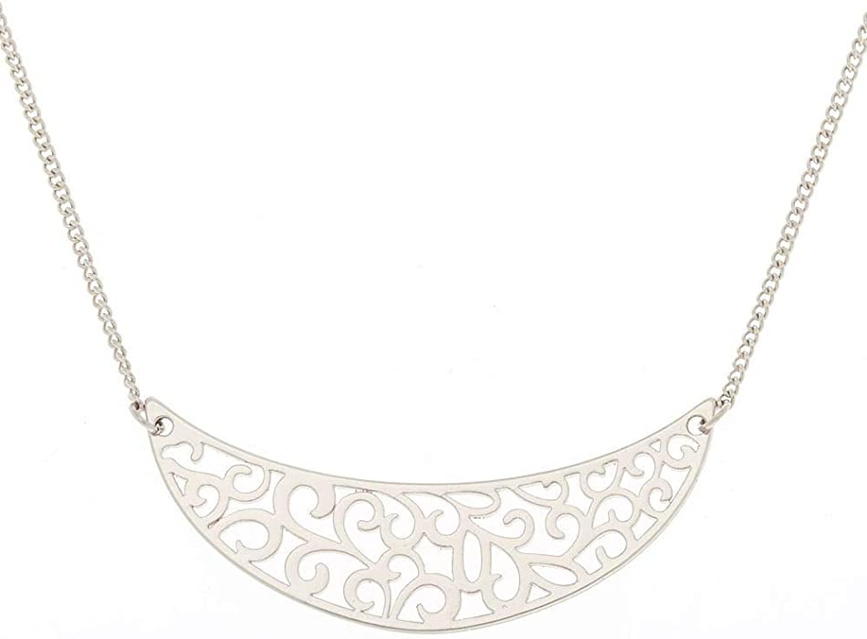 collier lune clairs