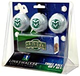 Colorado State Rams - Slider Clip 3 Golf Ball Gift Pack