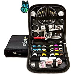 SEWING KIT for The Whole Family Equipped with the Most Useful & Practical SEWING ACCESSORIES for Home, Office, Travel, Beginners & Sewing Emergency, PREMIUM SEWING SUPPLIES for Mending & Sewing Needs