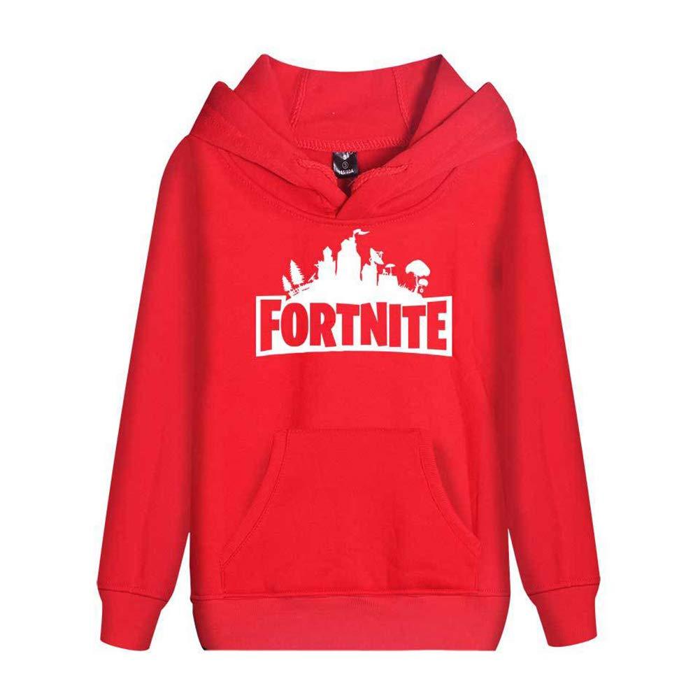 Merdbu Fortnite Hoodie Kids Boys Girls Sweatshirts Hooded Long Sleeve