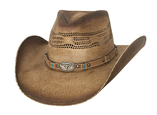 - Bullhide Craving You - Straw Cowboy Hat (Medium, Pecan)