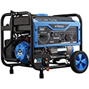 Pulsar Products PG5250B 2200W Peak 1600W Rated Portable Gas Generator