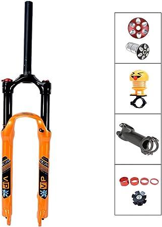 QQKJ Horquillas para Bicicleta de montaña Horquilla para Aceite y ...