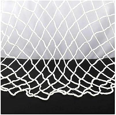 Malla de Red de Protección Decoración de Techo Blanca Cuerda Net Net Decoración del Jardín, 2x4m Red de Seguridad Protección Escaleras Niño 3 * 5m (Size : 1 * 1M): Amazon.es: Hogar