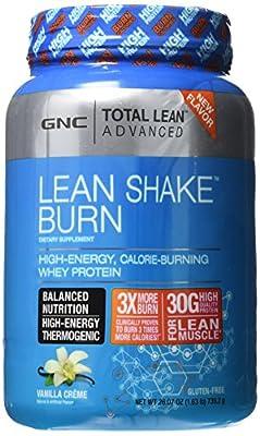 GNC Advanced Lean Shake Burn Protein Powder