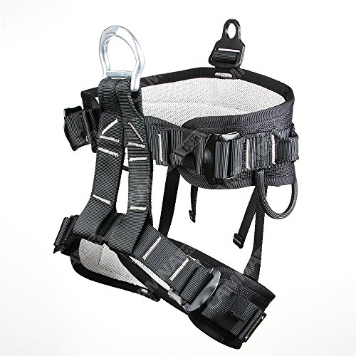 Tree Climbing Tools - Climbing Harness, Half Body Harness, Oumers Safe Belts Guide Harness For Outward Band Expanding Training, Caving Rock Climbing Rappelling Equip, Safety Comfort, Pro Avao Bod Fast Harness