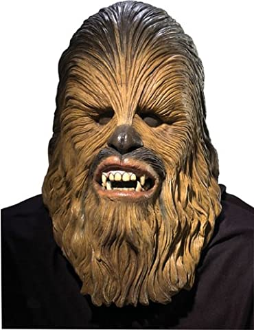 Men's Star Wars Deluxe Latex Chewbacca Mask, Multicolor, One