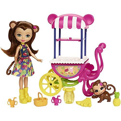 Enchantimals- Enchantimal Vehículo y Mascota Surtido/Modelos Aleatorios Bambolotti (Mattel 446FJH11)