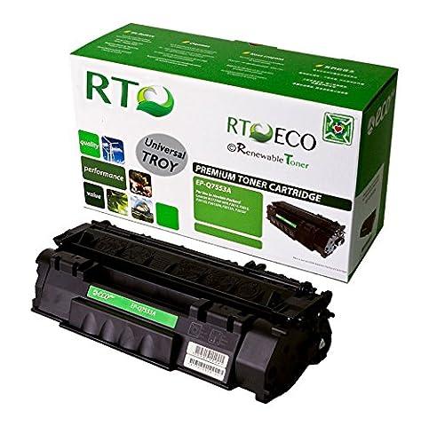 Renewable Toner Universal TROY 02-81212-001 HP Q7553A 53A MICR Toner Cartridge Yield 3000 for TROY & HP LaserJet Printers 2015 P2015 P2015n P2015x M2727 M2727nf M2727nfs - P2015x Laser Printer
