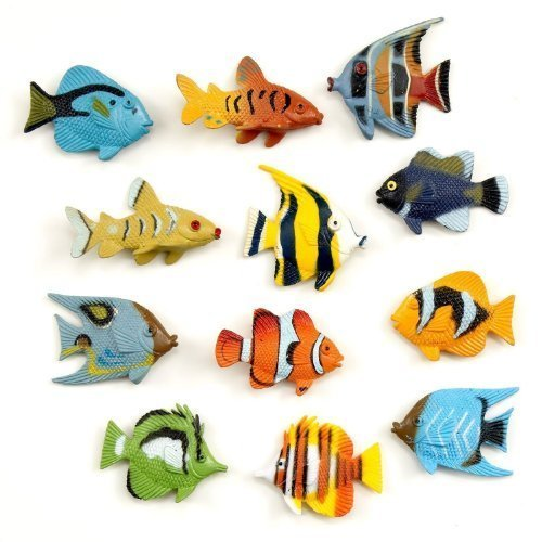 Tropical Fish Party Favors - 36 Pack ()