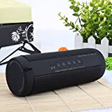 SODIAL Professional IPX7 Waterproof Outdoor HIFI Column Speaker Wireless Bluetooth Speaker Subwoofer Sound Box with Flashlight Support FM Radio TF Mp3 Player Mobile Phone
