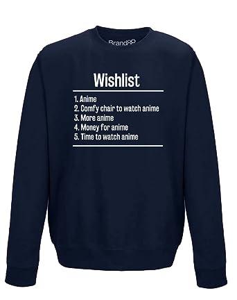 Brand88 - Wishlist: Anime, Erwachsene Gedrucktes Sweatshirt: Amazon.de:  Bekleidung