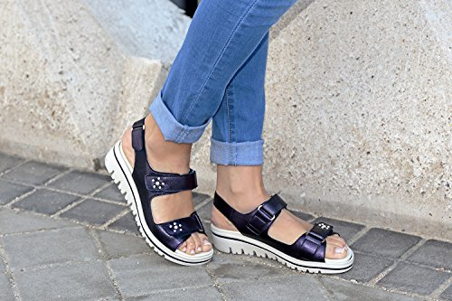 Zapato 180781 Ante Extraíble Piesanto Sandalia Plantilla Orion Confort Metal Marino OPvWU0qw