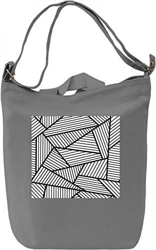 Modern Art Texture Borsa Giornaliera Canvas Canvas Day Bag| 100% Premium Cotton Canvas| DTG Printing|