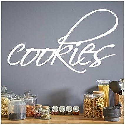 Amazon.com: Calcomanía celeste banytree galletas comida ...