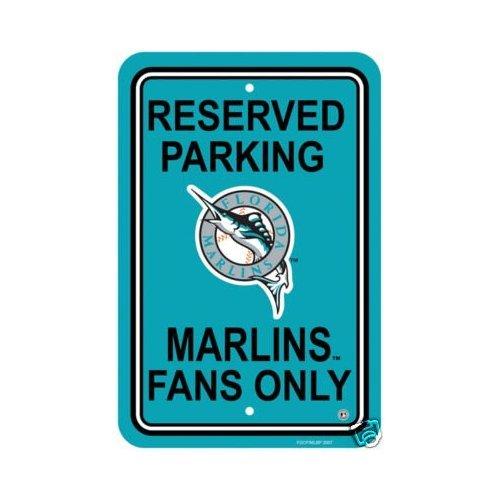 Florida Marlins 12 x 18 Parking Sign