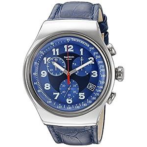 Swatch Men's YOS449 Analog Display Quartz Blue Watch