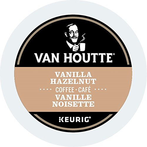 Van Houtte (Vanilla) Hazelnut Coffee, 24-Count K-Cups for Keurig Brewers (Pack of 2)