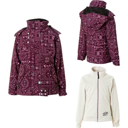 Ride Chevelle Girls Snowboard Jacket Bandita Print - ()