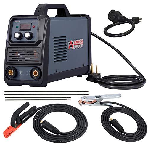 Amico ARC-180, 180 Amp Stick Arc DC Inverter Welder, 100V~250V Wide Voltage, Use E6010 E6011 E6013 E7014 E7018 ect.