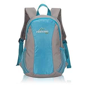 Veevanpro Kids Backpack Mini Daypack Boys Backpack 10 Liter Blue
