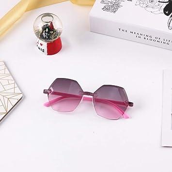 Gafas De Sol Gafas De Sol para Niños con Forma Hexagonal 3-7 ...