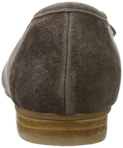 Hirschkogel Damer 3003417 Lukkede Ballerinaer Brun (dunkeltaupe) WuTwXm5