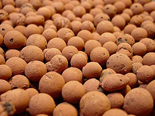 Mother Earth HGC714114 Hydroton Original Expanded Clay Pebbles Terra Cotta 25 Liter