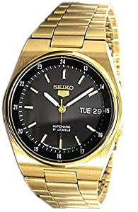 Seiko De los hombres 5 Automatic Analógico Dress JAPAN Reloj SNXM20J5