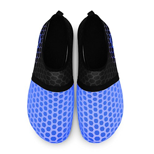 Barfuß Dive Surf Run Beach Unisex Schuhe Dot RUN Schuhe L Yoga Haut für navy Wasser Schwimmen aUIfpnwq