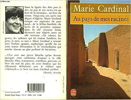 Au Pays De Mes Racines French Edition Cardinal