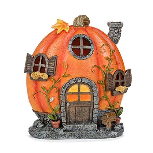 Darice 30014188 Miniscape Pumpkin House